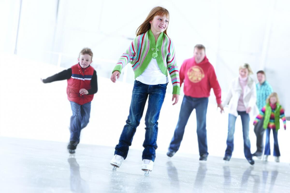 Ice Skating at Medibank Icehouse