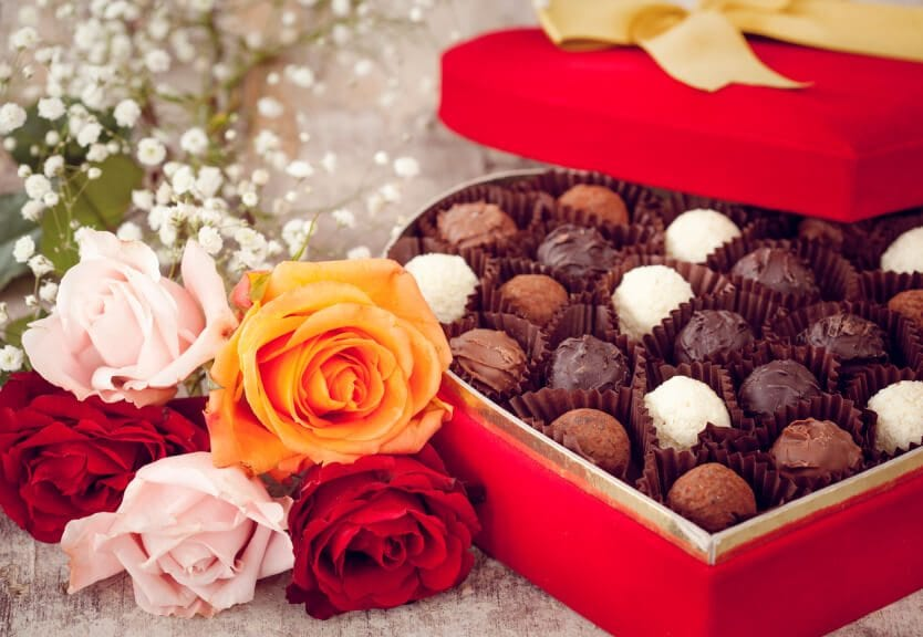 flowers-chocolates