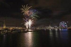 Docklands Winter Fireworks