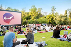 December Melbourne Activities Moonlight Cinema