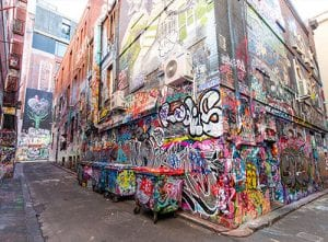 Instagramable Melbourne: Hosier Lane