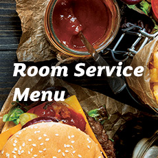 Melbourne Hotel Room Service Menu