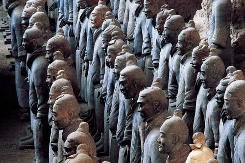Terracotta Warriors and Cai Guo-Qiang