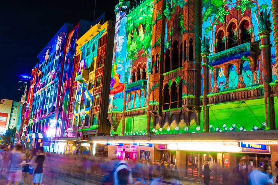 Reimagined White Night Melbourne 2019