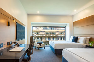 Melbourne Accommodation 2 Bed Executive Guestroom